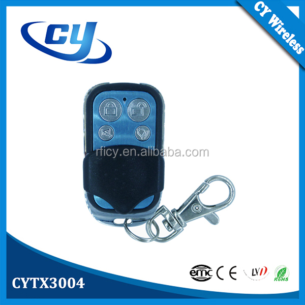 CYTX3004 + CYRM03 Wireless RF Universal Car Alarm Remote Control Garage Door Decoding Receiver Set
