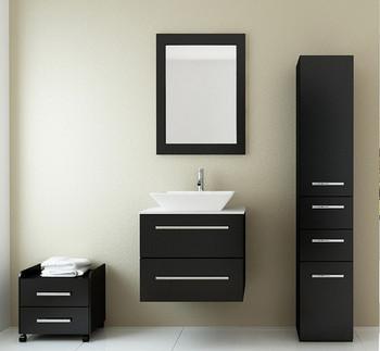 Cupboard Bathroom Wash Basin Pine Wood Cabinets