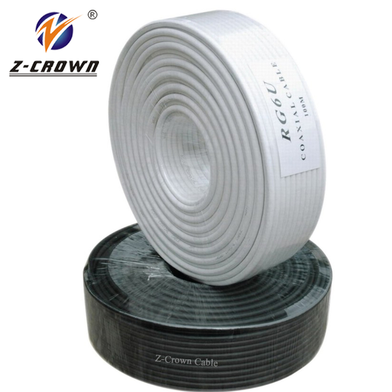 1000ft cabo cctv cabo coaxial rg6 bc