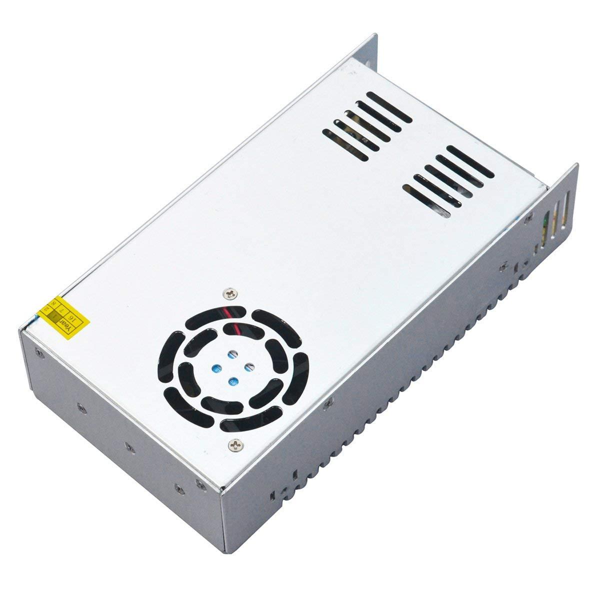 OLSUS 360W AC 110V/220V to DC 24V 15A Aluminum Transformer Switching Power Supply