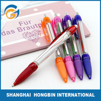 Funny Plastic High Quality Red Stylus Banner Pen