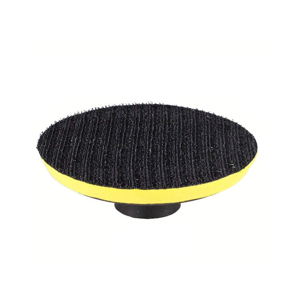 100mm Self-adhesive Polishing Discs Grinder Disc Perforated Sucker Backing Pad Grinding Tool