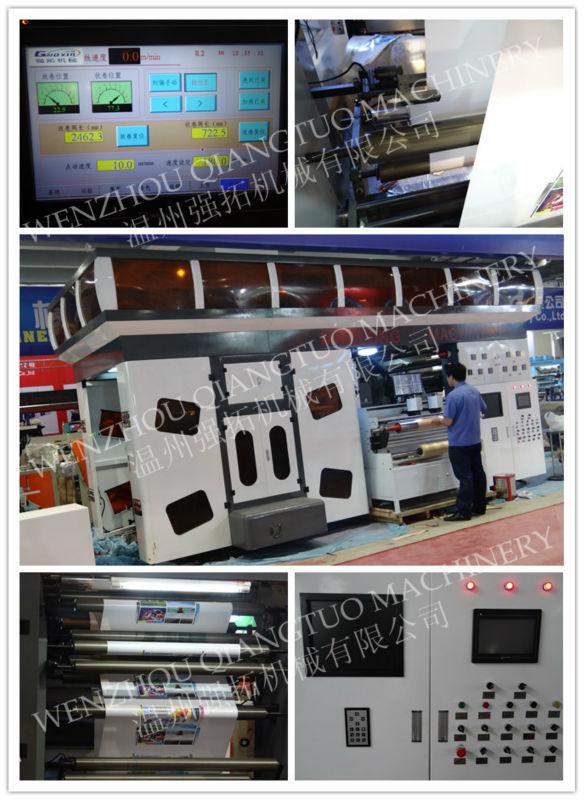 Hoge Snelheid roll waterbasis inkt CI flexodruk machine papier flex drukmachine prijs