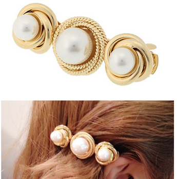 Fashion Hair Jewelry Gold Pearl Hair Clip Lady Decorative Hair Clips Buy Hair Jewelry Hair Clip Decorative Hair Clips Product On Alibaba Com