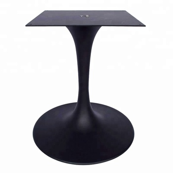 Ing In Well Black Powder Coated Iron Aluminum Alloy Tulip Table Legs For General Use