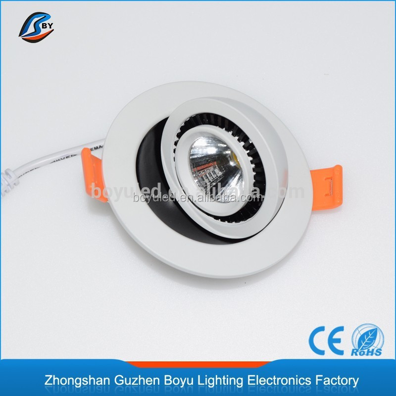 wholesale waterproof led downlight Aluminum 9W warm & cool white led downlight with 78mm cut out