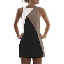 Women Summer Casual Sleeveless Evening Party Beach Dress Short Mini Dresses Vestido 4558