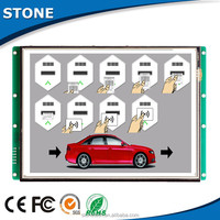 10.1 inch lcd touch screen module work with MCU for parking system