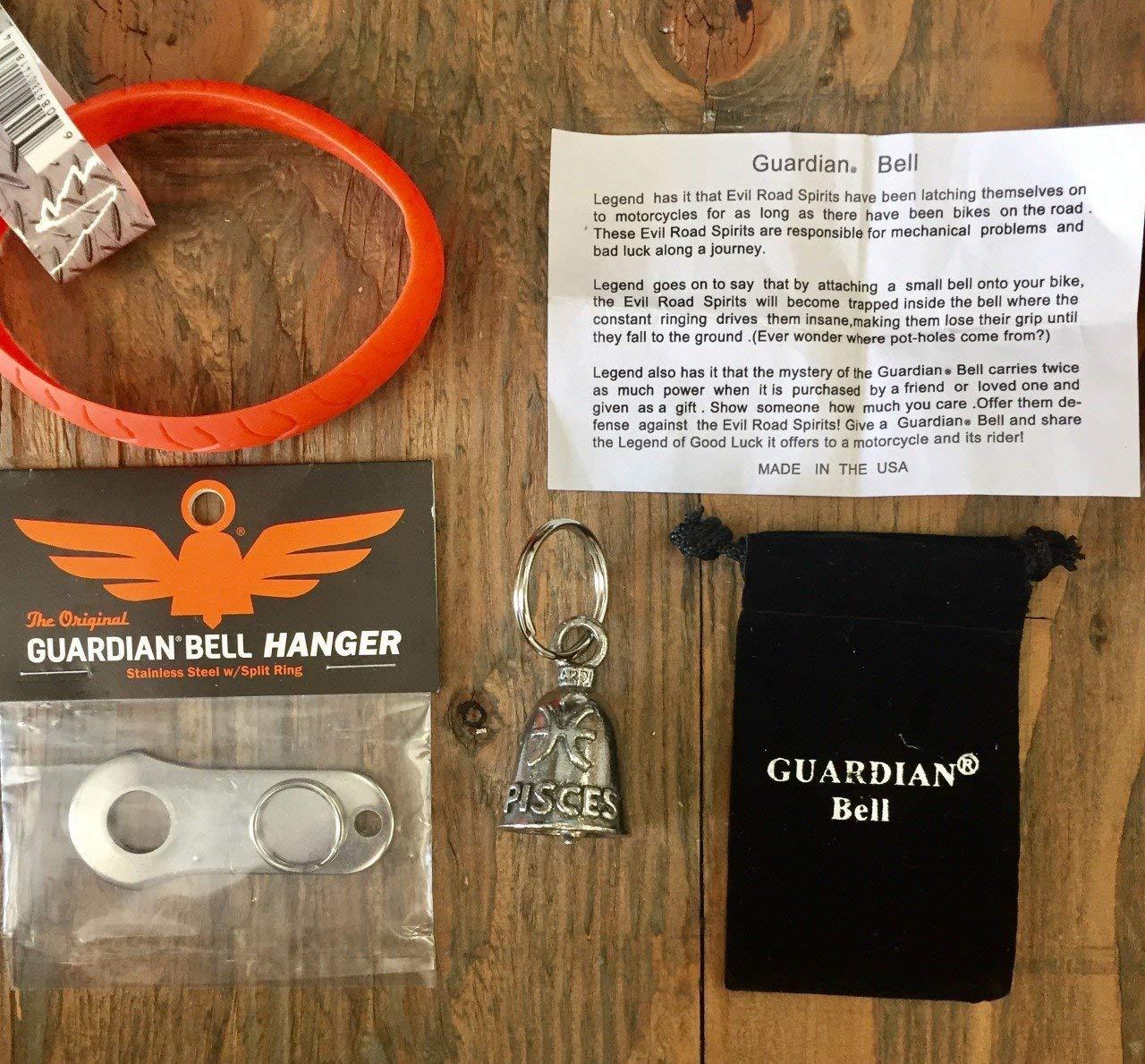 Guardian® Bell PISCES ZODIAK COMPLETE KIT W/HANGER & WRISTBAND