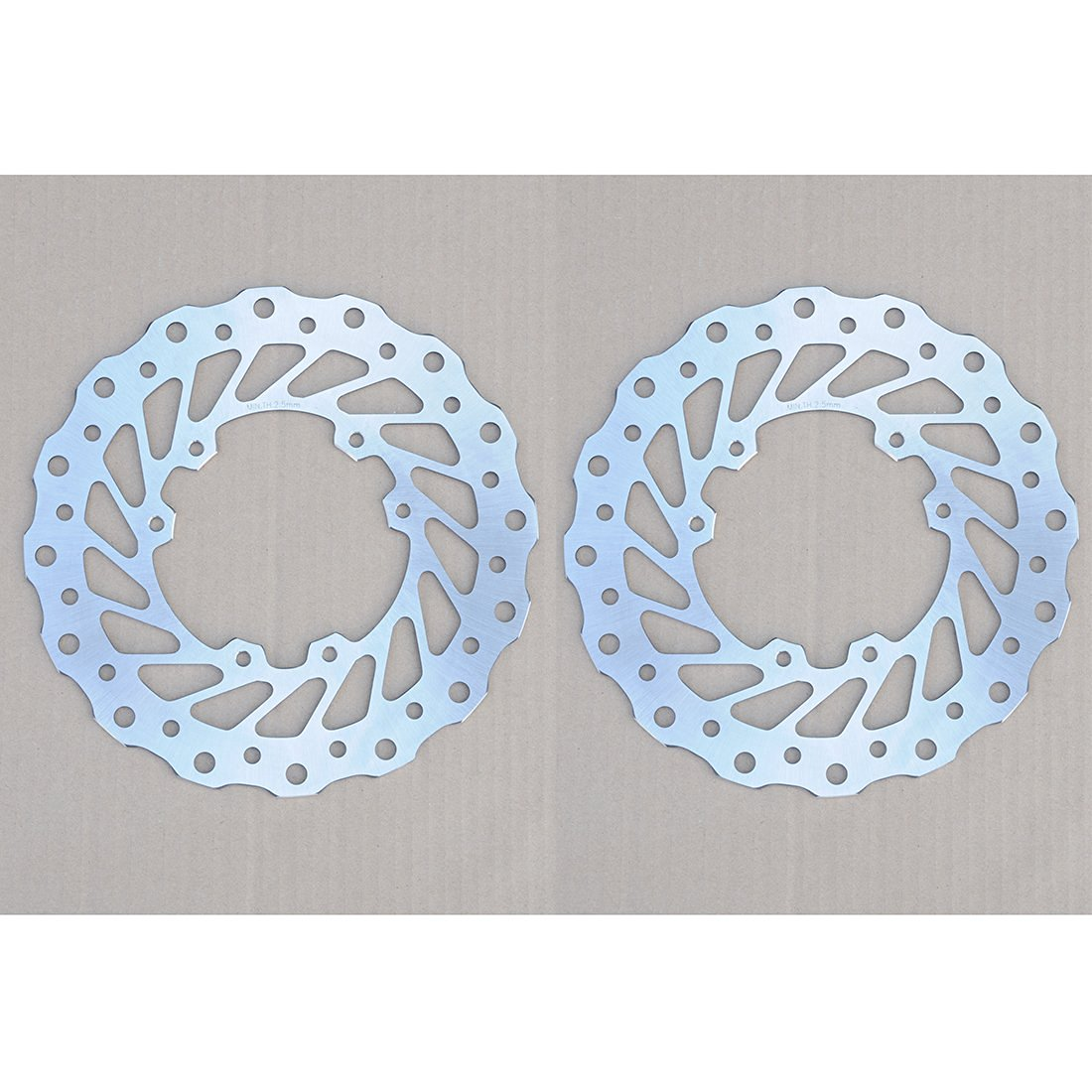 Wotefusi Motorcycle Front Brake Disc Rotor For Honda CR125 CR250 1995-2007 1996 1997 1998 1999 2000 2001 2002 2003 2004 2005 2006 CR250 CRE F250R F300X F500X 2008-2009 CRF250 2004-2009 2008 CRF250R CRF450 CRF450R CR500