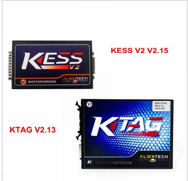 Последним KESS V2 V2.15 оборудование V4.036 KTAG V2.13 оборудование V6.070 нет ограничения маркеров поддержка бренды для автомобилей и грузовиков