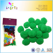 craft tinsel pom poms mixed colours package