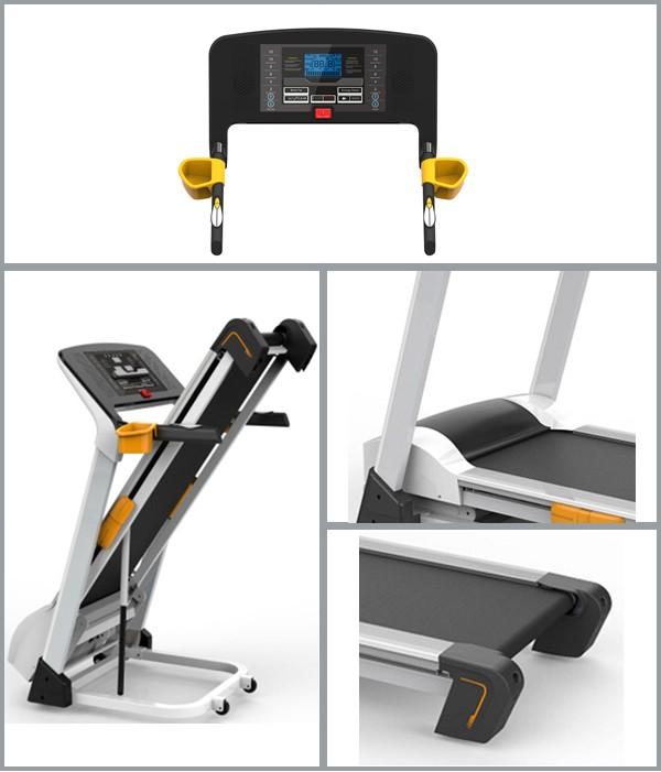 High Quality Home Use Gym Equipment Motorized Treadmill ...