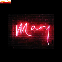 wholesale china factory price custom mary glass neon light sign