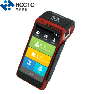 Rugged Hand held Mobile Airtime Verifone 4g Android All-in-one POS Terminal  Built In Printer HCC-Z100C