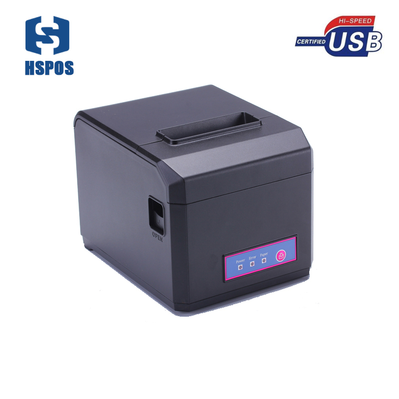 58mm 80mm pos thermal printer with linux driver auto cutter money order printer support multi languages for POS system HS-E81U