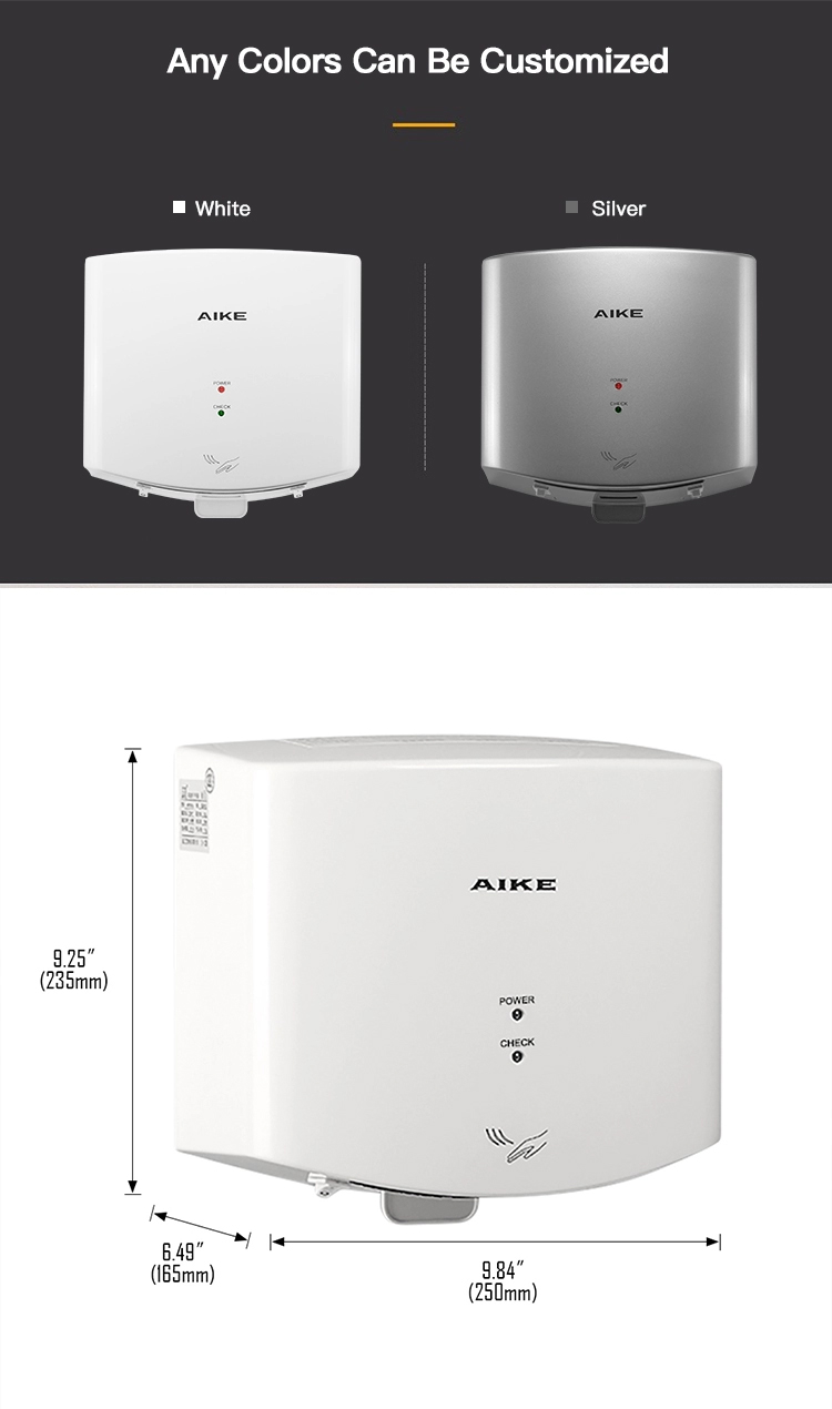 Bathroom AK2630 - K China Supplier Small Automatic Air Touchless High Speed Hand Dryer