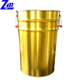 30L large tin can with side plastic handle for paint/solvent