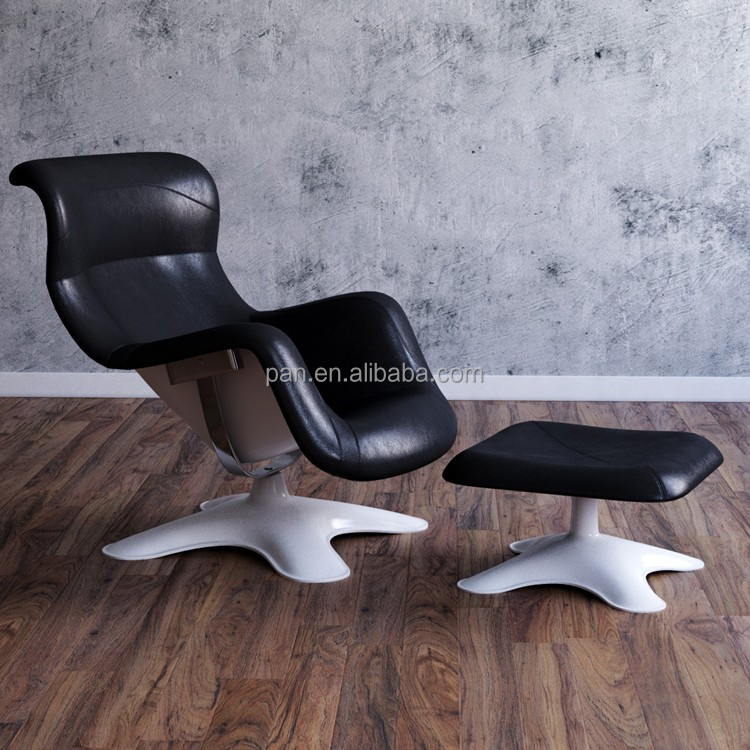 Karuselli chair and ottoman by Avate
