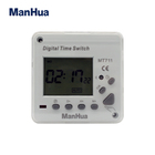 MANHUA MT711 220-240VAC 50 ~ 60 헤르쯔 ProgrammableDigital Timer Switch