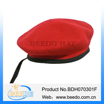 Fashion Knitted Military Wool Beret Hats Red Military Beret Hats - Buy ... b022a2dadf4