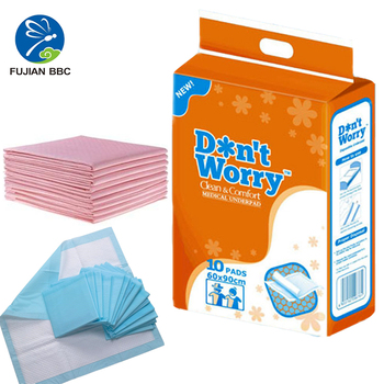 Free Sample Medical Hospital Absorbent Pad Non Woven Fluffy Pulp Super  Absorption Urine Adults Disposable Incontinence Bed Pads - Buy Disposable
