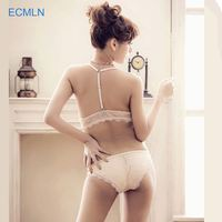 Excellent Quality Sexy Girl Sexy Fancy Front Open Bra Wholesale and Panty Set