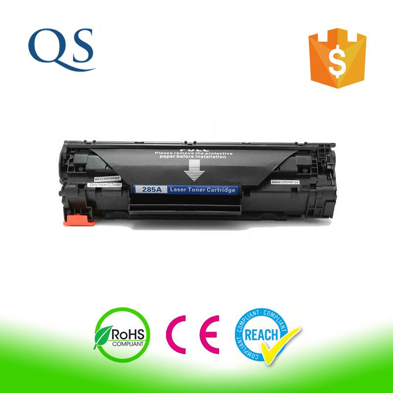 CE285A black toner cartridge original quality 85a toner cartridge used for hp printer part 285a toner cartridge supplier china