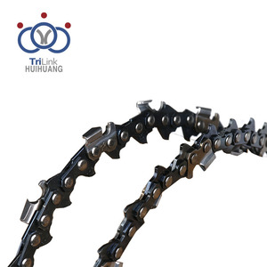 Low kickback semi-chisel chain 55 chain saw spare parts for homelite