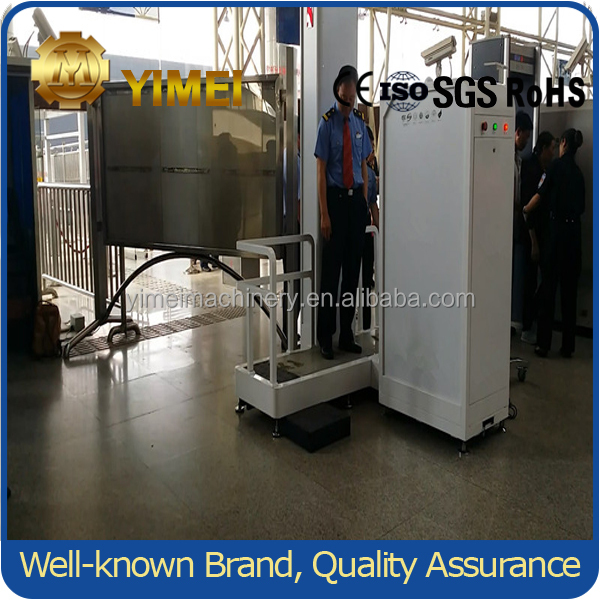 2016 new super quality YM5010 prison/airport public security X-ray full body scanner