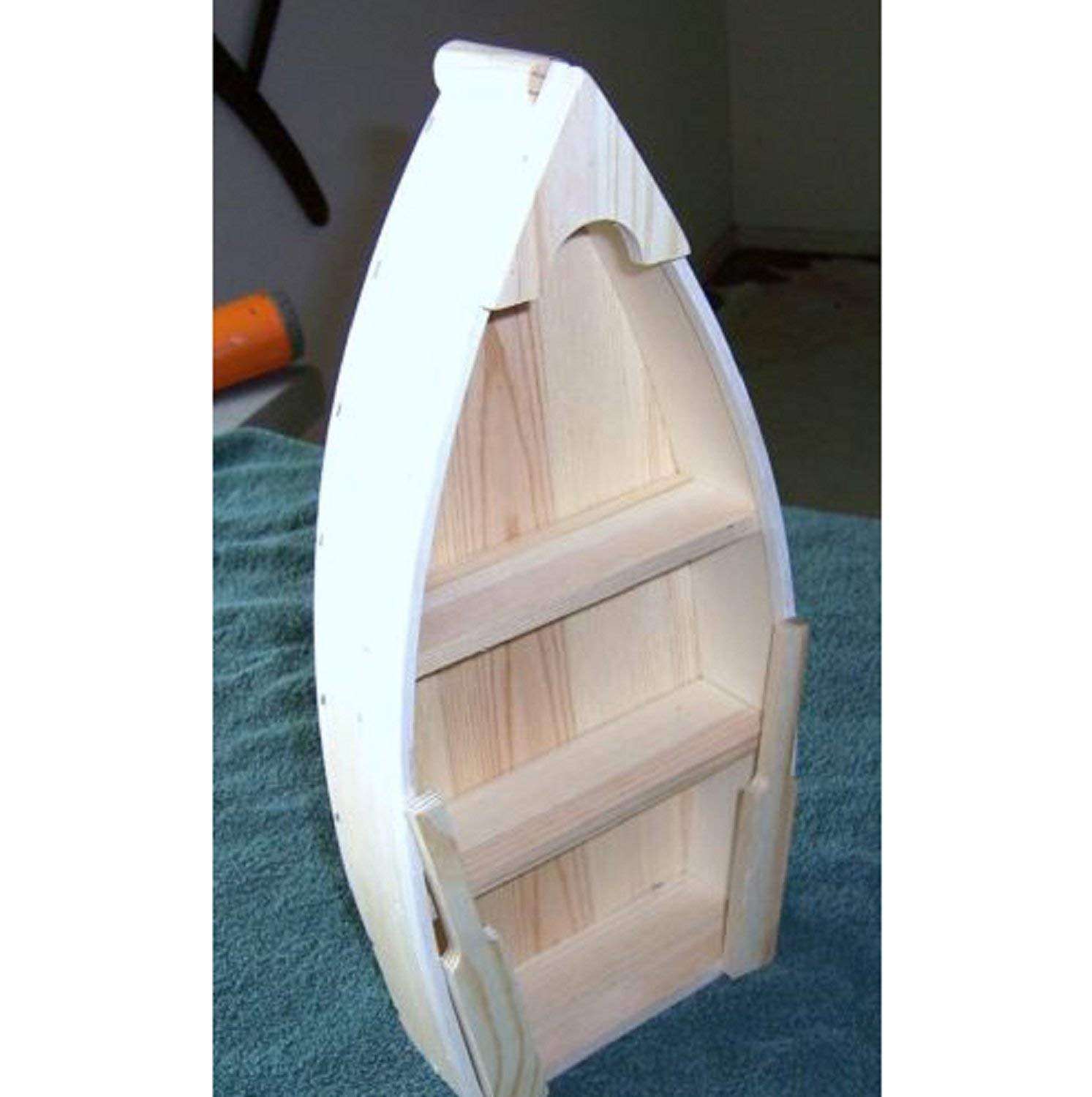 Darice 9154 94 Unfinished Natural Wood Craft Project Wood Boat With Oars 12 Inch Sareg Com