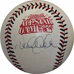DEREK JETER Signed Authentic Autograph 2000 ALL STAR GAME Official Major League Baseball Steiner COA