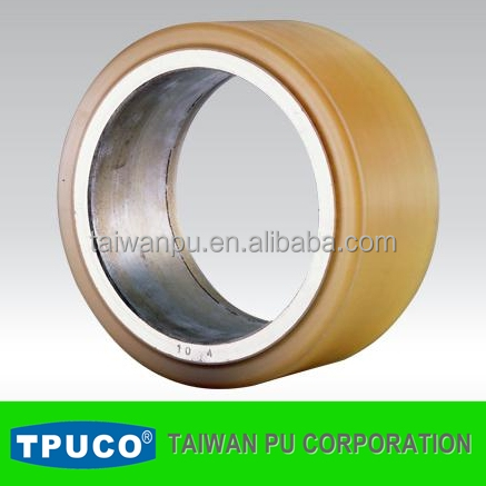 Tpuco Excellent In Toughness And Durability Casting Pu Wheel For ...