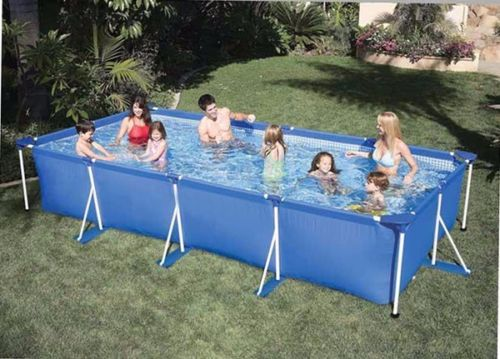 Buy rectangle swimming family pool - Largest above ground swimming pool ...