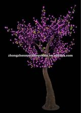 Popular pink SBL-180 led cherry tree,decorative lighting tree
