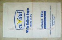 50kg pp woven sugar packing plastic bag