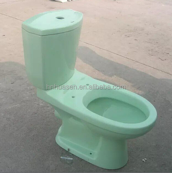 Ceramic Sanitary Ware Green Color Toilet Buy Toilet