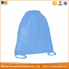 Solid color nylon mesh drawstring bag 100% waterproof Rope pocket drawstring bag new style drawstring bag