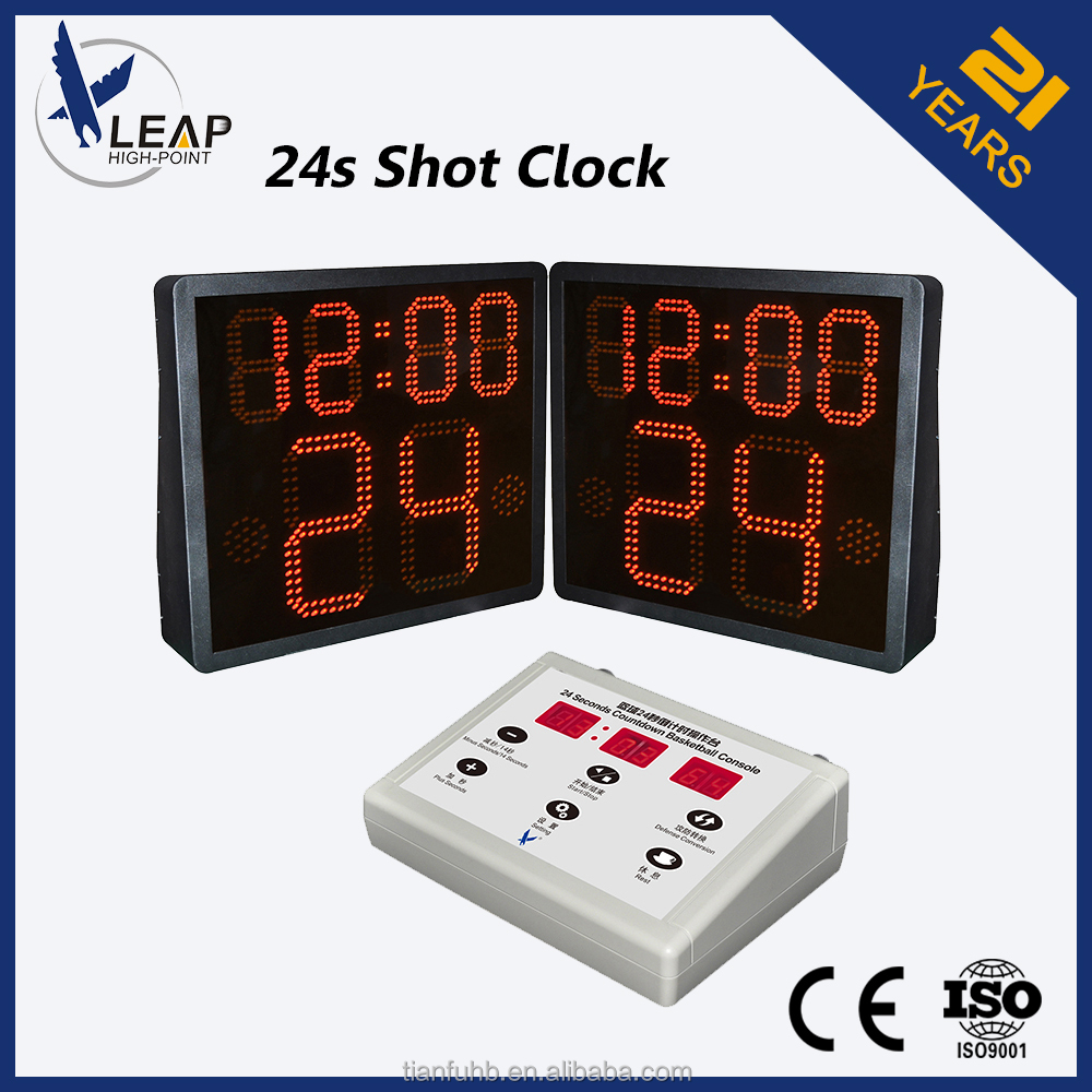 One side shot clock /LED display /Basketball scoring device