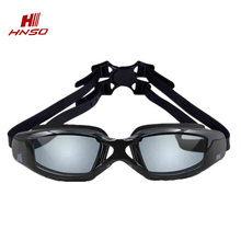 Cost-effective silicone frame swimming usage adult swimming goggles prescription