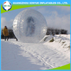 Funny inflatable land snow zorb ball