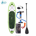 "Fissot 10'*30""*6"" PVC inflatable stand up paddle board with pump"