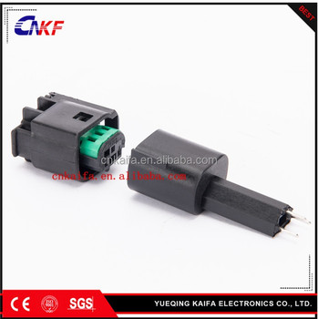 Tyco amp 3 pin male female auto connector for mini smart for Mercedes benz electrical connectors