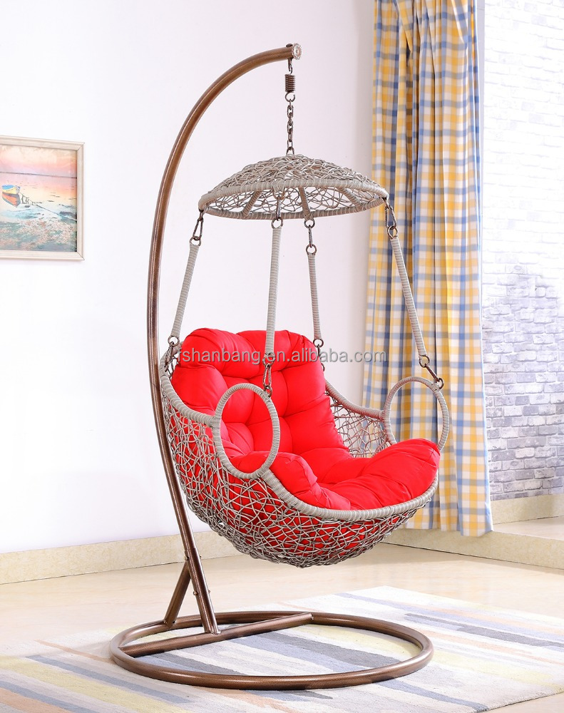Rattan outdoor swing chair indoor hanging chair rocking chair ratta - Hanging Basket Chairs Hanging Basket Chairs Suppliers And Manufacturers At Alibaba Com