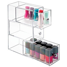 Groothandel Clear Rechthoek 3 Layer Cosmetica <span class=keywords><strong>Opslag</strong></span> Organiser