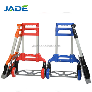 High quality stair climbing hand truck hand trolley prices with two wheels hotel luggage trolley