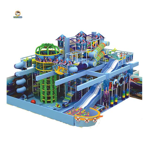 Veiligheid kleurrijke ondeugende kasteel kinderen commerciële Indoor speeltoestellen