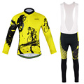 Men s GEL Breathabkle Collar riding Cycling Jersey Outdoor Sports Cycling Bicycle Clothes MTB Bike Long