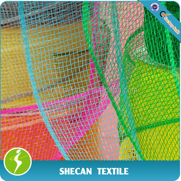 poly plastic mesh for deco