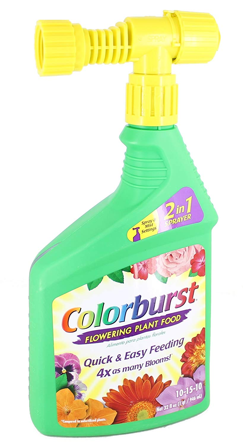 Get Quotations Colorburst 10 15 Flowering Plant Food 2 In 1 Sprayer
